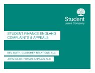 Managing Appeals & Complaints - HEI Services - Student Loans ...