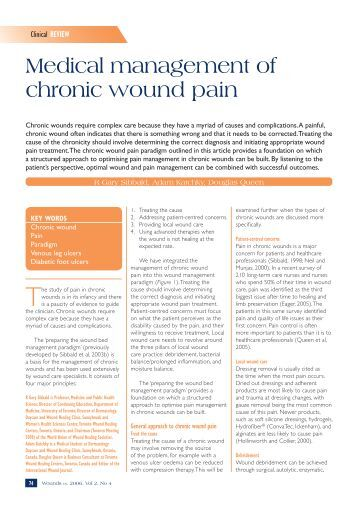 chronic pain management case studies Persistent abdominal pain: three case studies objectives •identify at least two etiologies for persistent  –idiopathic abdominal pain –chronic pelvic pain 526 bed academic teaching hospital memorial health system springfield, il magnet status in 2006 spineworks pain center  managing persistent abdominal pain 9/9/11.