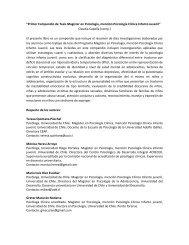 """""""Primer Compendio de Tesis Magíster en Psicología, mención ..."""
