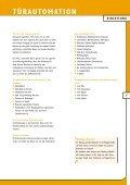 Katalog Türautomatisierung (pdf) - DZ Schliesstechnik GmbH - Page 7