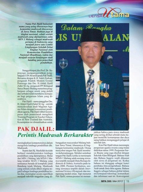 PAK DJALIL - Kemenag Jatim