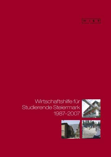 Wirtschaftshilfe für Studierende Steiermark 1987–2007 - Wist