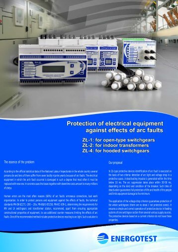 for hooded switchgears - Energotest