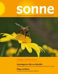 sonne - Österreichische Kinder-Krebs-Hilfe