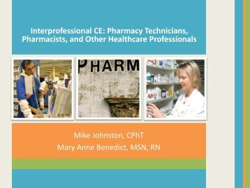 Interprofessional CE - Accreditation Council for Pharmacy Education