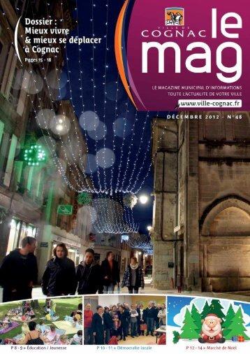 Cognac Mag décembre 2012 - Ville de Cognac
