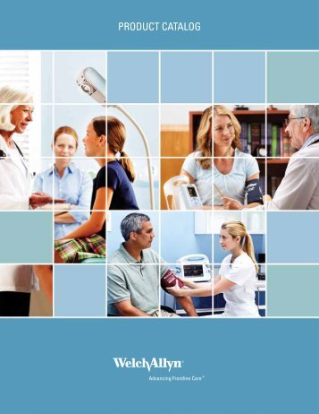 Master Product Catalog - Welch Allyn