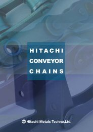 Standard Conveyor Chains - Chain and Drives Australia