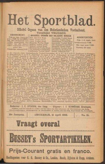 Het Sportblad.
