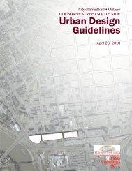 Urban Design Guidelines - City of Brantford