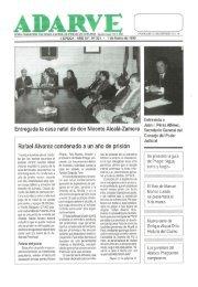 Rafael Alvarez condenado a un año de prisión - Periódico Adarve