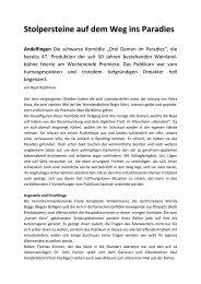 Schaffhauser Nachrichten vom 16.4.2013 - Weinlandbühne ...