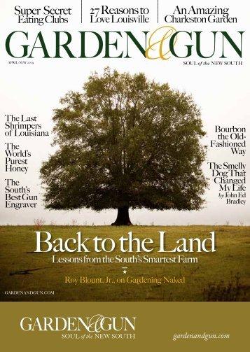 GArDEN&GuN - Garden and Gun