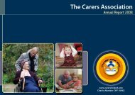 Download Annual Report Final 29th Sept - Carers Association