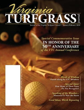 Virginia Turfgrass Council / P.O. Box 5989 / Virginia Beach, VA 23471 /