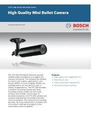 High Quality Mini Bullet Camera - Simon Technologies