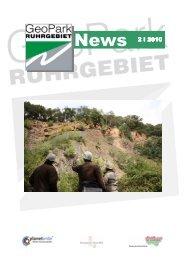 News 2 I 2010 - Geopark Ruhrgebiet - Metropole Ruhr