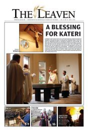 ApRIL 1, 2011 - The Leaven