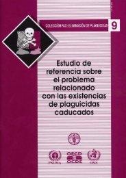 FAO - Plaguicidas Obsoletos Estudio de Referencia - Plan Nacional ...
