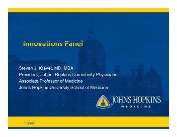 Innovations Panel Innovations Panel