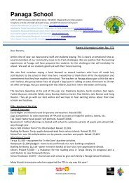 Download Parent Info 11 July 2013 Issue 175 - Panaga School