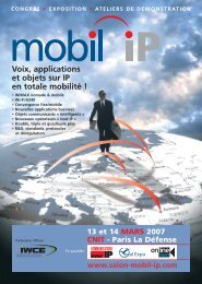 plaquette Mobil IP - Groupe Solutions