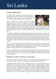 Sri Lanka - WFP Remote Access Secure Services