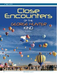 Close Encounters of the George Hunter Kind (Motivated Magazine)