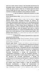 acta de la sesin ordinaria nmero 1 del honorable ... - Guanajuato