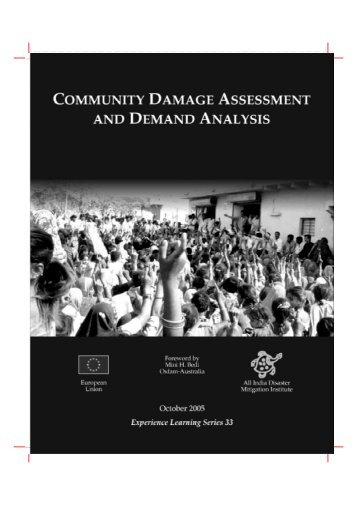 Community Damage Assessment - International Federation of Red ...
