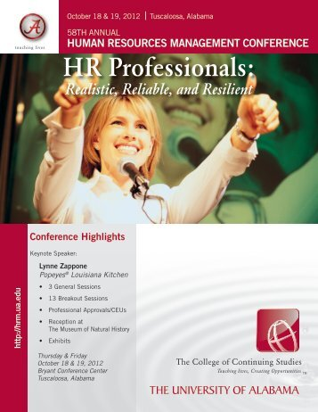 HRM - Professional Development & Training - The University of ...