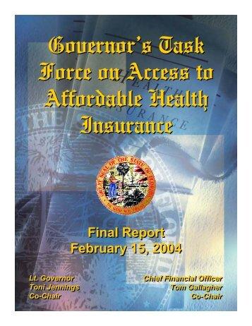 Florida - Gov's Health Care - State of Oregon