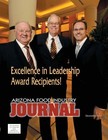 Excellence in Leadership Award Recipients! - Arizona Food ...