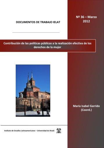 Contribución de las políticas públicas a la realización efectiva ... - ielat