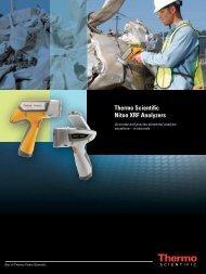 Thermo Scientific Niton XRF Analyzers - Thermo Fisher