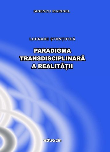 Paradigma transdisciplinara a realitatii - PIM Copy