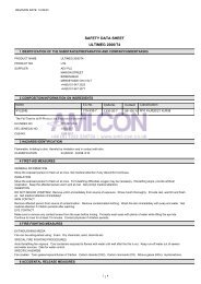 SAFETY DATA SHEET ULTIMEG 2000/T4 - AMI-CON
