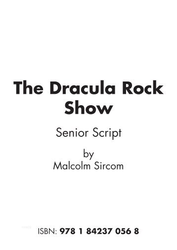 Script The Dracula Rock Show Senior.pdf - Musicline