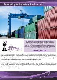 Accounting for Importers.pub - Linda McGowan Accountants