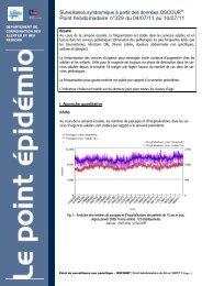 Point hebdomadaire n°329 du 04/07/11 au 10/07/11 - COLMU