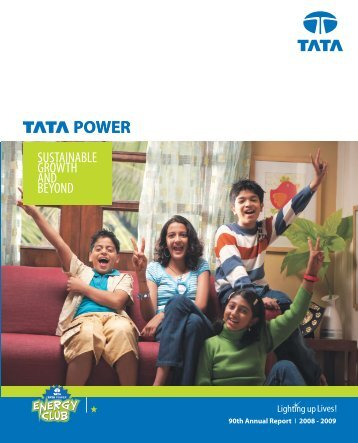 90th Annual Report FY09 - Tata Power