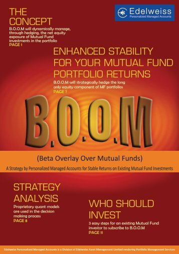 boom strategy - Edelweiss - Personalized Managed Accounts ...