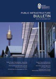 Public Infrastructure Bulletin - Bond University