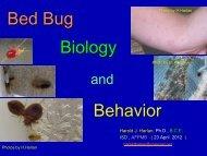 Dr. Harold Harlan Presentation - National Pest Management ...