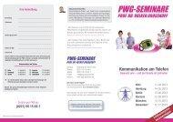 Kommunikation am Telefon (2013) - PWG-Seminare