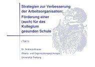 Vortrag von Herrn Dr. Andreas Krause Teil I