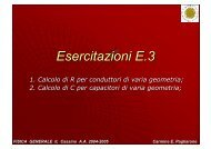 Esercitazioni E.03