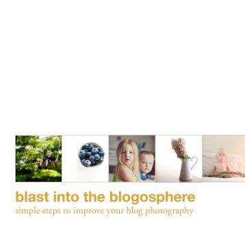 blast into the blogosphere - Clickin Moms