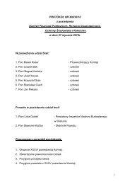 Protokół z XXXVI posiedzenia Komisji Finansów Publicznych ...