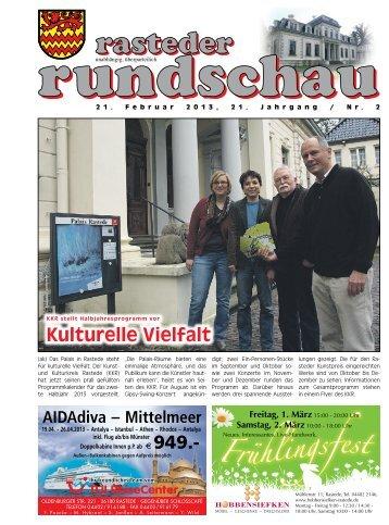 rasteder rundschau, Ausgabe Februar 2013